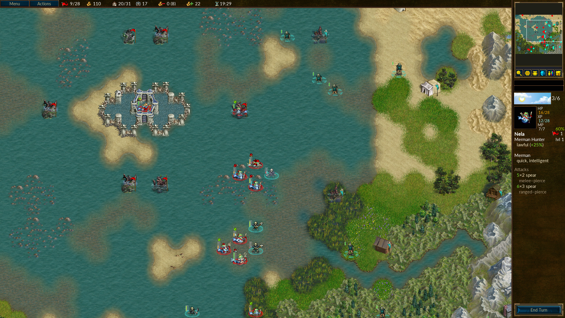 bitwa o wesnoth 1.10